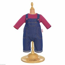 """COROLLE MON CLASSIQUE DENIM OVERALLS Outfit (Fits 17"""" Baby Doll) W9043-0"""