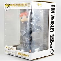 Funko Pop! Movie Moments Harry Potter Ron Weasley Riding Chess Piece #82 image 3