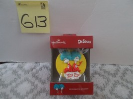 Hallmark Dr. Seuss Thing One Thing Two Christmas Ornament - $12.99