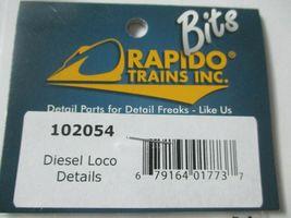 Rapido # 102054 Diesel Locomotive Detail Parts  HO Scale image 4