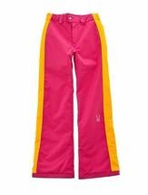 Spyder Girls Ski Snowboarding Thrill Athletic Fit Pants, Size 12 (Girl's... - $63.36