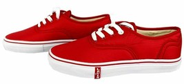 Levi's Women's Classic Premium Atheltic Sneakers Shoes Rylee 524342-01R Red image 2