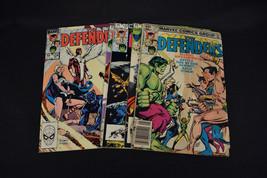 Defenders 1st Series Lot 5 Bks 119 121 122 123 124 VG FN Hulk Doctor Str... - $7.72