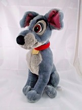 "Disney Lady and the Tramp Gray Dog Plush 15"" Stuffed Animal - $9.13"