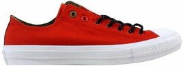 Converse Chuck Taylor All Star II 2 OX Signal Red 153539C Men's - $60.62