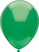 "24 Latex Balloons 12"" When Inflated Solid Colors - Forest Green - $2.96"