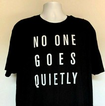 HBO Boardwalk Empire No One Goes Quietly T Shirt Mens XXL 100% Cotton Black - $22.72