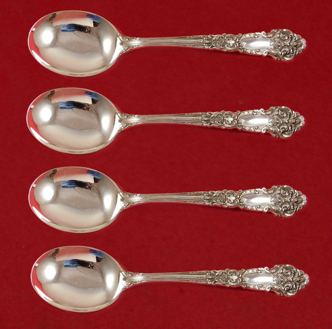 "Versailles by Gorham Sterling Silver Mustard Ladle Custom Made 4 1//2/"""