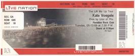KATE VOEGELE 5/12/09 Boston Paradise Rock Club BIG Live Nation Concert T... - $2.96