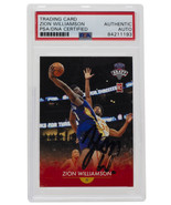 2019-20 Zion Williamson Signed Generations Next #1 Basketball Card PSA - $1,551.03