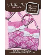 Bella Bow Crossbody Bags Pickle Pie Designs - $29.69