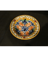 Talavera Pottery, Small 7 ½ Inch Bowl Traditional Colors  Hand Painted - $11.99
