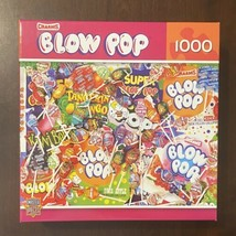 Master Pieces Charms Blow Pop Candy 1000 Piece Puzzle (2013) Excellent! - $9.85