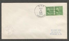 Mar 6 1956 USS Hazelwood  Fletcher Class Destroyer Stamp #839  - $9.99