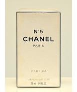 Chanel No 5 Parfum by Chanel 7,5ml 1/4 Fl. Oz. Spray Pure Perfume Woman ... - $349.90