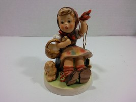 "Goebel Hummel Vintage 1993 ""Farewell"" Last Issue Figurine nro. 65 (Germany) - $48.01"