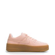 Nike Schuhe WmnsAirForce1SageLowLX, Damen Sneakers Rosa/Braun/Schwarz - $130.54