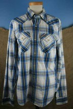 Hollister NWT Boy's Long Sleeve Button Down Dress Shirt Size M  - $21.38