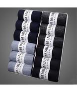 12pcs/ Set Of 12 Pair Men Thin Breathable Sweat Socks Casual Mid-Calf Te... - $15.83