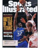 ORIGINAL Vintage May 22 1995 Sports Illustrated Michael Jordan Shaquille... - $18.49