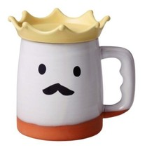 TOKONAME ware Japanese Beer water drinking cup Mug 'King of beer' - $31.28