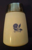 Vintage Corelle Cornflower Dripcut Glass Sugar Dispenser Santa Barbara, ... - $24.49