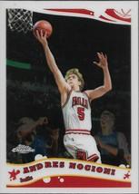 Andres Nocioni Topps Chrome 05-06 #108 Chicago Bulls  - $0.25