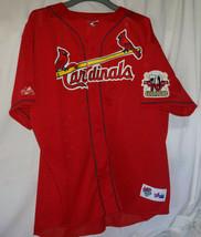 1998 St. Louis Cardinals MARK McGWIRE Big Mac MLB Majestic 70HR Jersey X... - $123.75