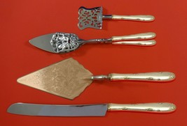 Madeira by Towle Sterling Silver Dessert Serving Set 4pc Custom Made - $299.00