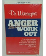 Dr Weisinger's Anger Work Out Audio Book Cassette 90 Min. Brand New Seal... - $1.56