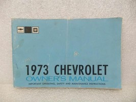 1973 Chevrolet Chevy Owners Manual 16000 - $16.82