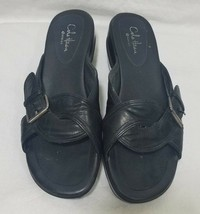 Cole Haan G Series Women's Comfort Sandals Size 6B Shoes Black Wedge - $27.76