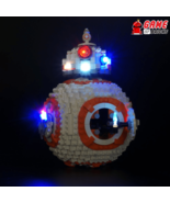 LED Light Kit for BB-8 - Compatible with Lego 75187 Set - $29.99