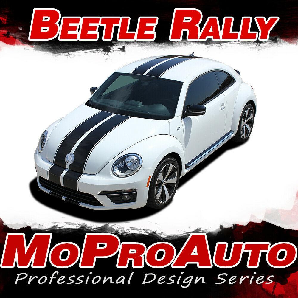 2012-2019 Volkswagen Beetle Racing Stripes Hood OE Vinyl