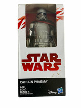 Hasbro Star Wars Stormtrooper Captain Phasma with Blaster 6-Inch Action ... - $10.69