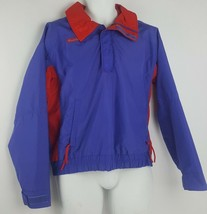 Columbia Bugaboo Vintage Ski Jacket Purple and Red 90s Radial Sleeve Men... - $29.69