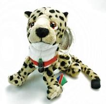 Coca-Cola Bean Bag Plush Cheetah Heeta International Collection Namibia 0249 (1) - $16.80