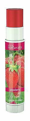 Avon Naturals Strawberry Lip Balms 4.5 gm Free Ship