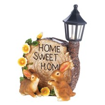 Gardening Decor, Solar Bunnies Decorative Small Home Yard Garden Outdoor... - $31.49