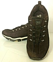 Skechers Premier Brown Womens Slip On Leather Casual Walking Shoes - Siz... - $19.99