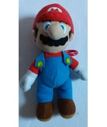 Super Mario Brothers 7 Inch Nintendo Stuffed Plush Doll Toy Mario with clip - $9.49