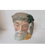 ROYAL DOULTON CHARACTER LG TOBY JUG MUG ROBINSON CRUSOE D6532 ENGLAND 7.... - $24.70