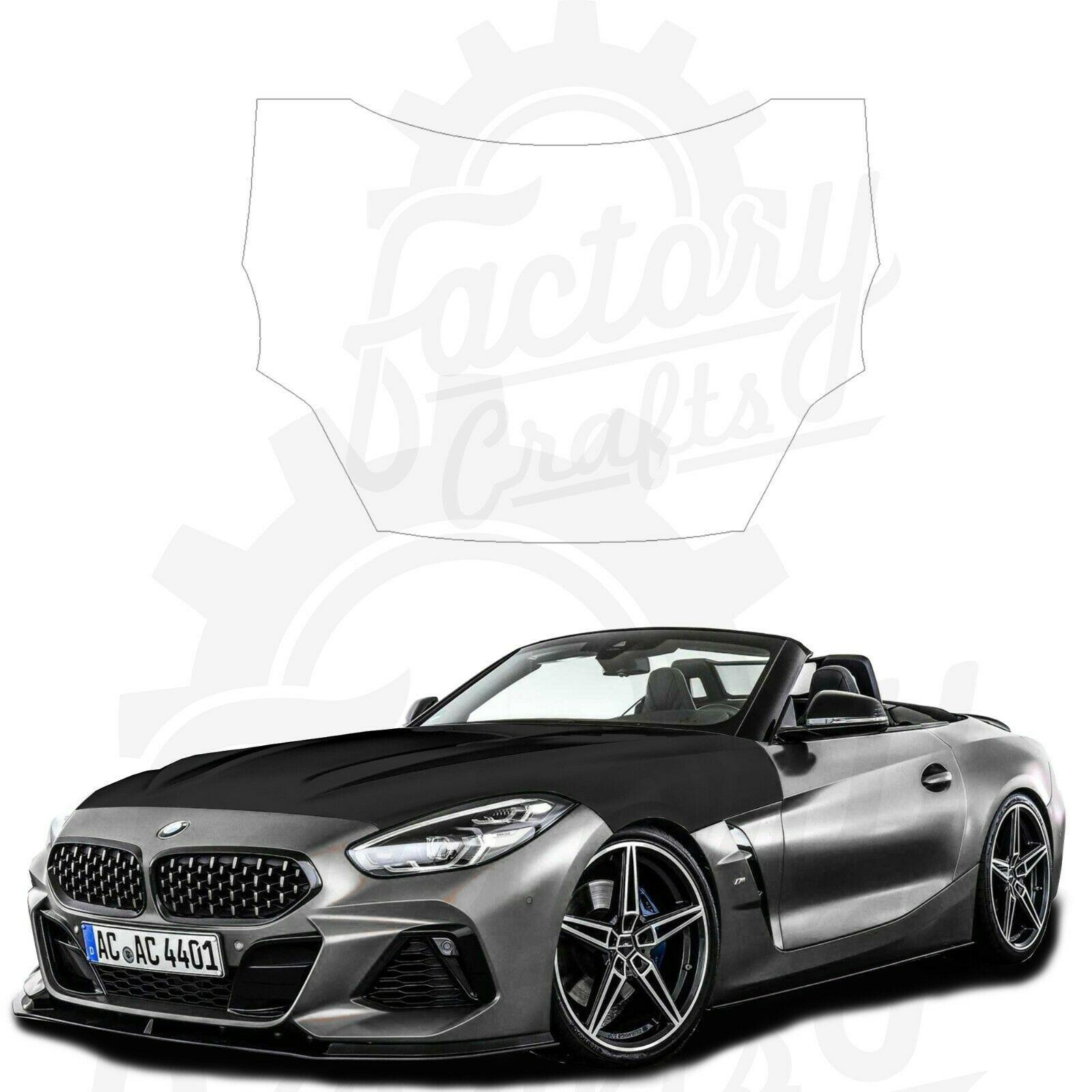 Matte Black Vinyl Decal Hood Wrap for BMW Z4 M40i 2020 - $247.45