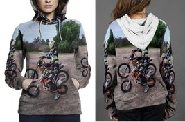 Like Father Like Son Motocross Hoodie Women - £35.56 GBP+