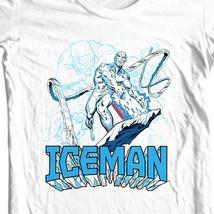 ICEMAN T-shirt retro marvel comics Spider-man and his amazing friends tee shirt image 2