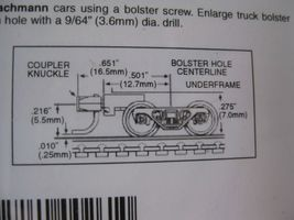 Micro-Trains Stock #00302032 Roller Bearing Trucks w/Medium Extension (1033) (N) image 4