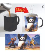 Kung Fu Panda Movie Coffee Mug Color Change Magic Mug 11 Oz for New Year... - $15.83