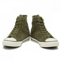 Converse Men'S Chuck Taylor All Star Field Green Hi Trainers 162723C  - $60.23