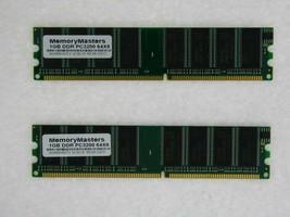 2GB 2X 1GB DDR PC3200 2 GB PC 3200 400 LOW DENSITY DESKTOP MEMORY RAM DUAL KIT