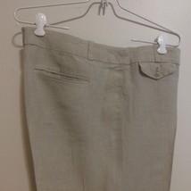 Ann Taylor Loft 100% Linen Pants - Linen Color Marisa Wide Flare Leg Siz... - $13.10